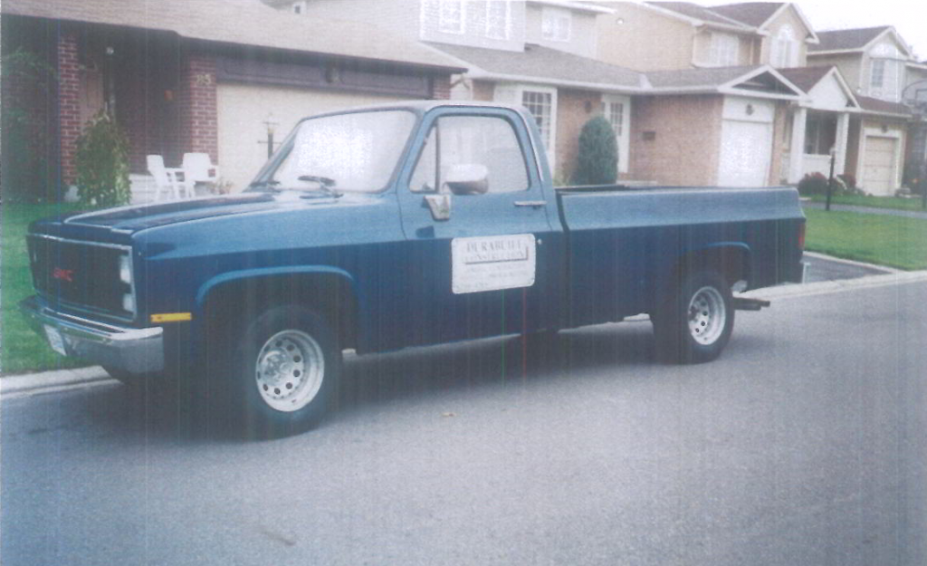 DCI first pickup truck